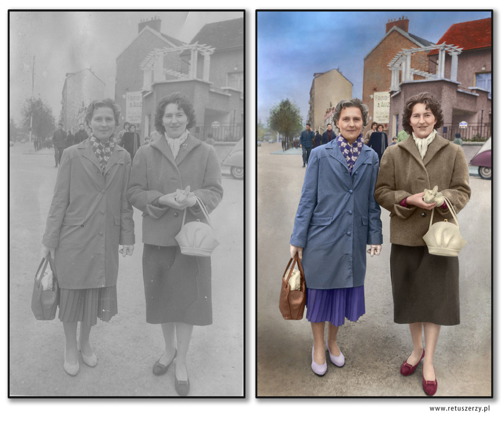 photo colorization retuszerzy